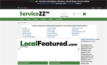 Servicezz - Servicezz.com - Local Service Marektplace